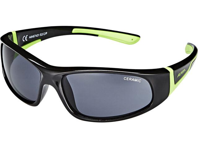 Alpina Flexxy Glasses Junior black-green